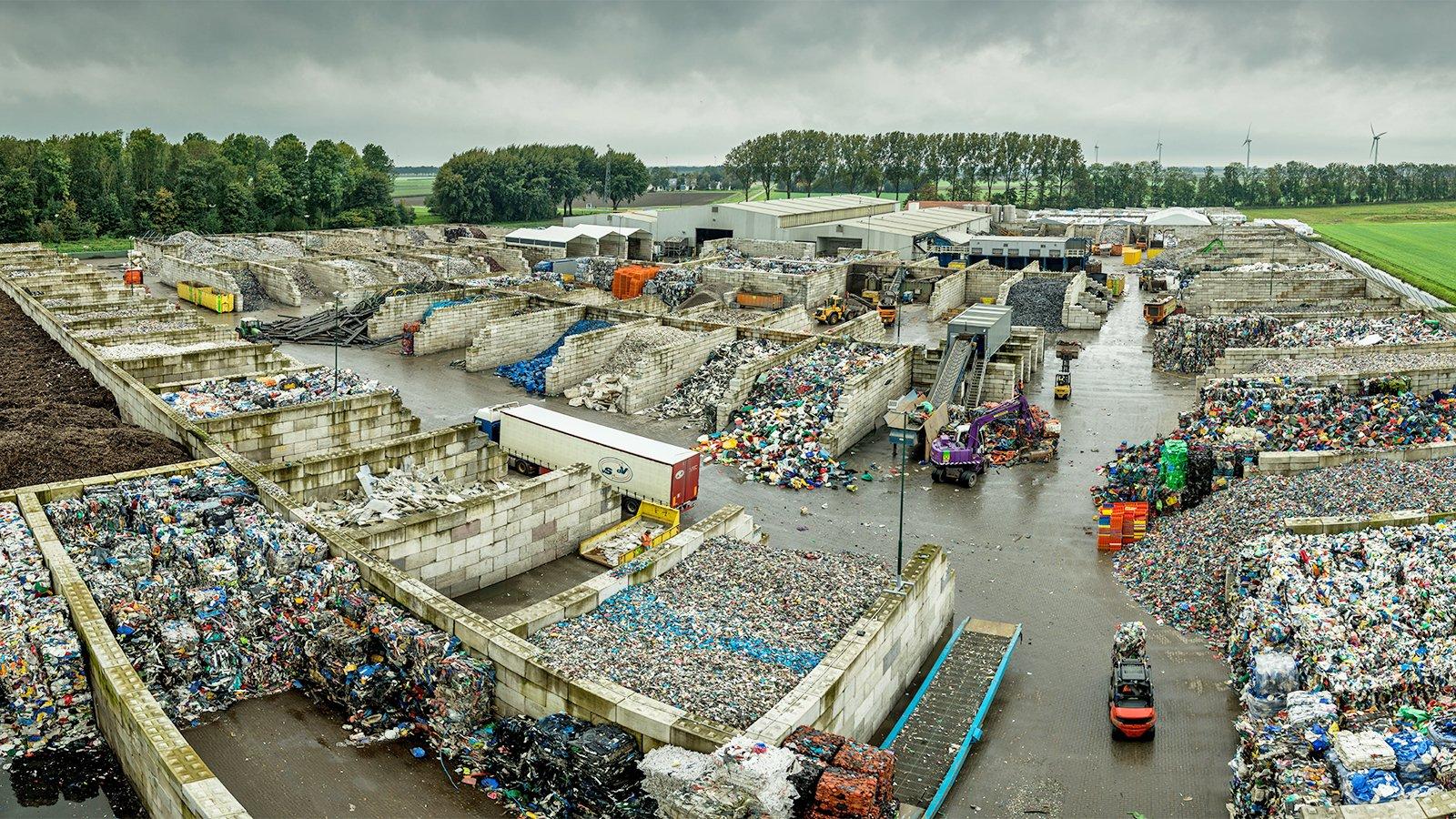 Plastiques que nous recyclons